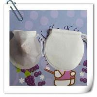 Disposable Round Tea Bag with String