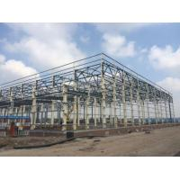 Quality Truss Roof Steel Frame Warehouse Construction Building for sale