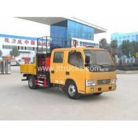 China Dongfeng small scissor lift table truck for sale on sale
