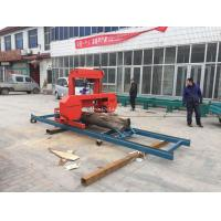 China SH27 horizontal band saw mobile sawmill for sale portable saw cutting wood into planks on sale