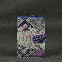 China Large Classic Ladies Python Skin Wallets Magic Wallet Leather Purse on sale