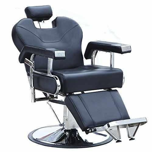Walcut hydraulic recline barber chair salon shampoo beauty for Salon equipment prices