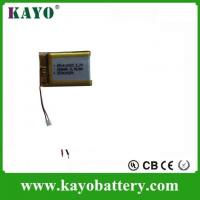 Quality 3.7v 240mah Lithium Polymer Battery for sale