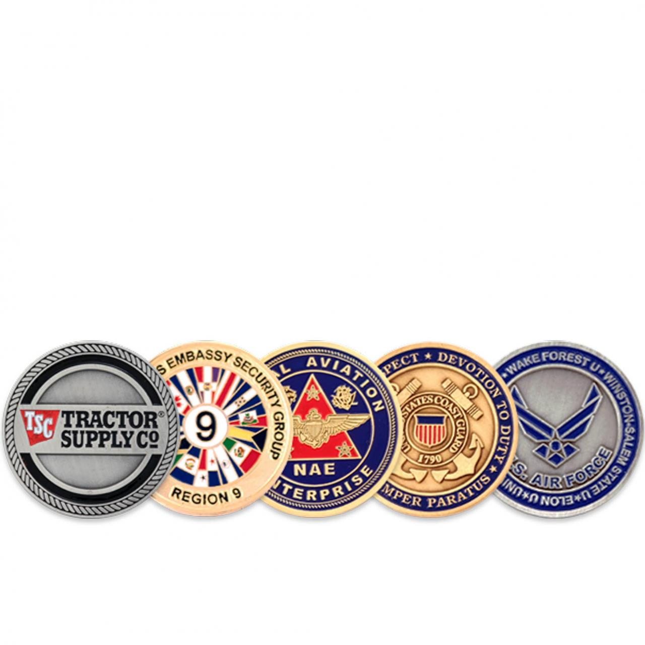 Quality METAL GIFTS Military Coins for sale