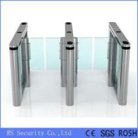 China Automatic Turnstiles Glass Door Swing Barrier Gate on sale