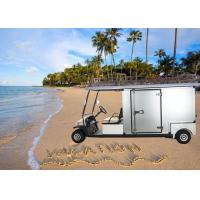 China Custom Motorized Utility Golf Carts , Street Legal Electric Carts With 5 Horsepower Motor on sale