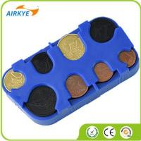 China Promotional EURO Coins holder Plastic EURO Coin dispenser on sale