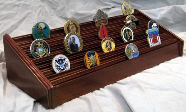 Buy Military Challenge Coin Displays And Holders at wholesale prices