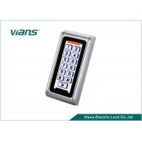 Quality Waterproof Standalone Access Control Keypad With Light 5-15CM Reading RFID EM Card for sale