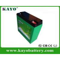 Quality Rechargeable Battery Pack 12V 21ah With Protection PCM for sale