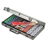 Quality 400pc Poker Set in Aluminum Case Poker Chip Small Carry Case for sale