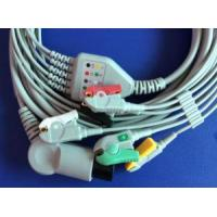 Quality Stable Quality AIR SHIELDS 5lead Ecg Cable,IEC/AHA,clip With CE for sale