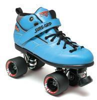Quality Roller Skates Sure-Grip Rebel Fugitive Roller Skates - Blue Boot for sale