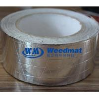 Buy cheap ALUMINUM FOIL WITH WOVEN FABRIC Reinforced aluminium Foil Tape from wholesalers