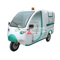 Quality City, state electric tricycle garbage trucks QingYunChe cleaning cars ST-3307 for sale