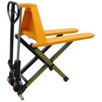 China Electric Scissor Lift Pallet Truck With Single Or Double Cylinder To Increase Work Efficiency on sale