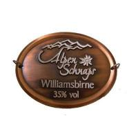 Quality Personalized 3D Antique Copper Badge for sale