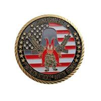 Quality Gunfighters Army/military Challenge Coins for sale