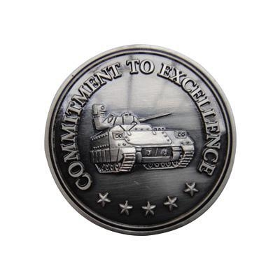 Buy Professional Commitment To Excellence Challenge Coins at wholesale prices