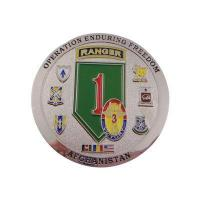 Quality Afghanistan Commemorative Military Challenge Coins for sale