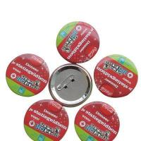 Quality Advertising Promotions Tin Button Badge for sale