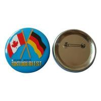 Quality Cheap Flags Printing Tin Button Badge for sale