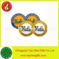 China UCLA BRUINS 2 SIDED LOGO GOLF BALL MARKERS on sale