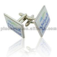 Buy cheap Printed Logo Cufflinks from wholesalers