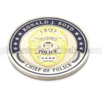 Quality Police Challenge Coins for sale