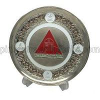 Quality Silver Trophy Plates Stand for sale