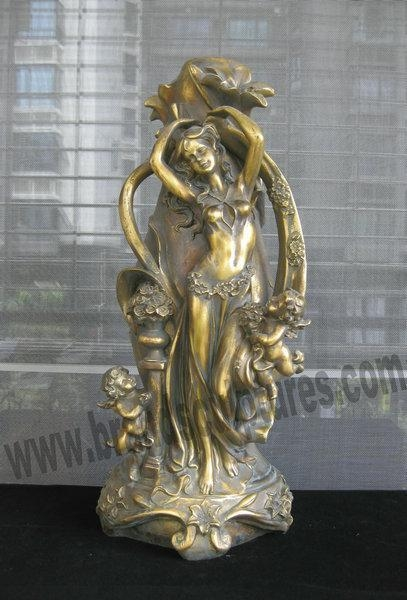 Lovely and life size brass fairy statues for collection for sale 16950529 - Fairy statues for sale ...