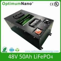 Quality Low High Speed Motorcycle Lithium Battery LiFePo4 Battery From China for sale