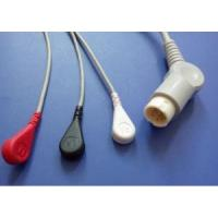 Quality Philips 12pin M2475b,m1205a 3lead Ecg Cable for sale