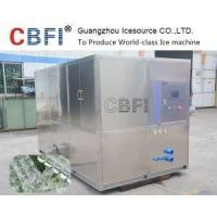 Quality 5 Tons Large Stainless Steel Directly Cooling Cube Ice Machine for sale