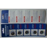 Buy cheap Lithium-ion Coin Button Battery CR2430-1, Suitable for Calculators and Electronics from wholesalers