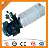 China Light DC hydraulic power pack with plastic oil tank for sale