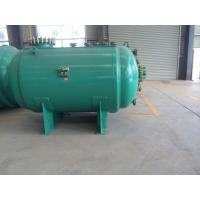 Quality 12000L Horizontal glass lined Chemical Storage Tank for Bromine with ASME certified for sale