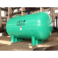 Quality Horizontal glass lined Chemical storage tank 30000L wih corrosion resistance materials for sale