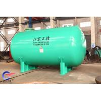 Quality Chemical Storage Tank with industial enamel , F 5000L glass lined steel pressure tank for sale