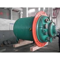 Quality 5000L Glass lined Half Pipe Jacketed Vessel , High pressure glass reactor for sale