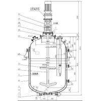 Buy cheap BAO STEEL 10000L Glass lined Carbon Steel Reactor for food , dye , pesticide from wholesalers