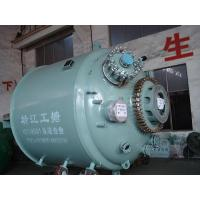 Buy cheap Smooth surface glass lined chemical , pharmaceutical reactors -0.1Mpa~1Mpa Pressure from wholesalers
