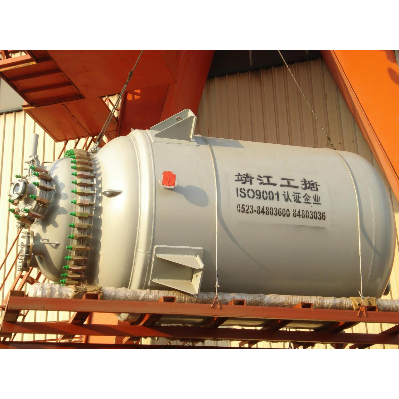 Buy cheap Corrosion resistance enamel glass lined equipment reactor for agrochemical industry from wholesalers