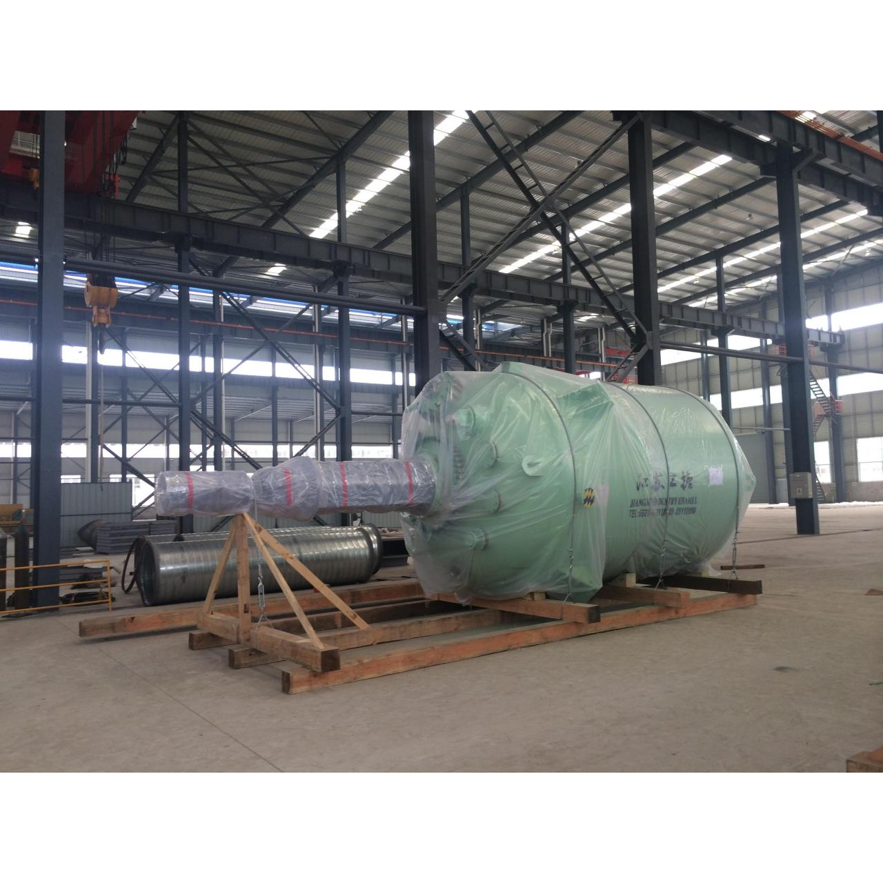 Buy cheap 3000L - 50000L Close type Glass Lined Reactor with Germany Wendel Enamel from wholesalers