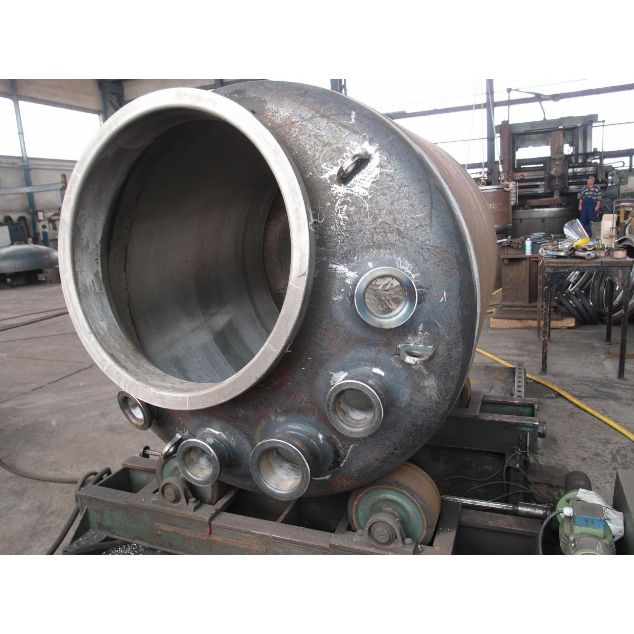 Buy cheap Carbon steel reactors in pharmaceutical industry for hydrolysis , neutralization from wholesalers