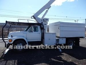 Buy Used 1998 Ford F Series Forestry Bucket Truck for Sale at wholesale prices