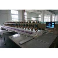 China Multi Head 480 80 Heads Lace Fabric Computer Programmable Embroidery Machine on sale