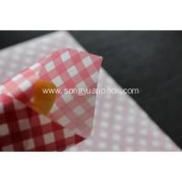 Quality customized printed hamburger/sandwish wrapping paper for sale
