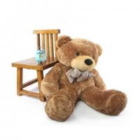 Buy cheap Large size plush teddy bear with knot from wholesalers