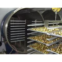 Quality Radiant Type of Food Freeze Dryer Machine with Aluminum Plate and Tray for sale